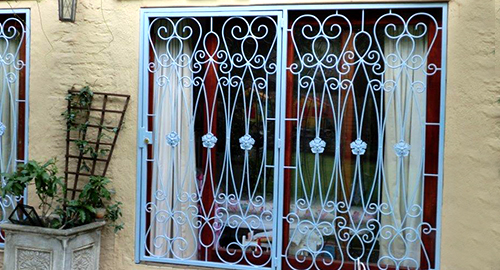 Wrought Iron Gates Balustrades Amp Burglar Bars To Keep